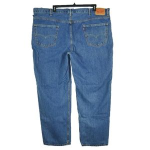 Levis 550 Mens Sz 50x32 Relaxed Fit Straight Jeans